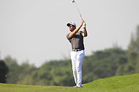 Alexander Bjork (SWE) on the 13th fairway during Round 4 of the UBS Hong Kong Open, at Hong Kong golf club, Fanling, Hong Kong. 26/11/2017<br />