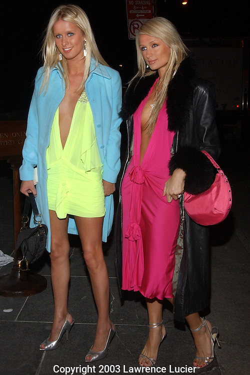 Nicky and Paris Hilton