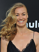 www.acepixs.com<br /> <br /> April 25 2017, LA<br /> <br /> Yvonne Strahovski arriving at the premiere of  'The Handmaid's Tale' at the ArcLight Cinemas Cinerama Dome on April 25, 2017 in Hollywood, California.<br /> <br /> By Line: Peter West/ACE Pictures<br /> <br /> <br /> ACE Pictures Inc<br /> Tel: 6467670430<br /> Email: info@acepixs.com<br /> www.acepixs.com