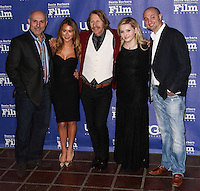 SANTA BARBARA, CA - FEBRUARY 05: Nick Stagliano, Alexa Vega, Lew Temple, Abigail Breslin, Jason Pinardo at the 29th Santa Barbara International Film Festival - Honoring Oprah Winfrey With The Montecito Award held at the Arlington Theatre on February 5, 2014 in Santa Barbara, California. (Photo by Xavier Collin/Celebrity Monitor)
