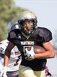 Palos Verdes, CA 09/16/16 - Bryce Thomas (Peninsula #5) in action during the Torrance - Palos Verdes Peninsula CIF Varsity football game.