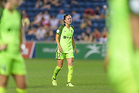 Bridgeview, IL - Wednesday August 16, 2017: Lauren Barnes during a regular season National Women's Soccer League (NWSL) match between the Chicago Red Stars and the Seattle Reign FC at Toyota Park.