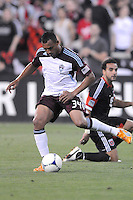 Colorado Rapids defender Tyrone Marshall (34) D.C. United defeated the Colorado Rapids 2-0 at RFK Stadium, Wednesday May 16, 2012.