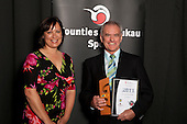 Masters award winner Jim Quinn from the NZ Laser Association & French Bay Yacht Club. . Counties Manukau Sport Sporting Excellence Awards held at the Telstra Clear Pacific Events Centre Manukau on December 1st 2011.