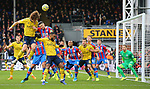 Arsenal's David Luiz heads the ball towards goal during the Premier League match at Selhurst Park, London. Picture date: 11th January 2020. Picture credit should read: Paul Terry/Sportimage