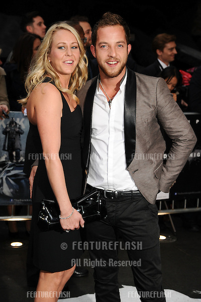 "James Morrison arriving for European premiere of ""The Dark Knight Rises"" at the Odeon Leicester Square, London. 18/07/2012 Picture by: Steve Vas / Featureflash"