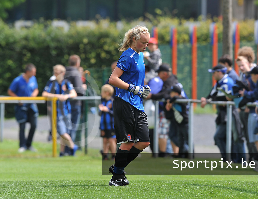 eerste training Club Brugge Dames : Jana Vanhauwaert.foto DAVID CATRY / Vrouwenteam.be