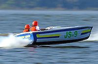 """Ken Gallup, JS-9 """"Disorderly Conduct"""" (Jersey Speed Skiff)"""