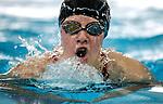 Marina Segedin of United during the New Zealand Junior Swimming Championships, Owen G Glenn National Aquatic Centre, Auckland New Zealand. Sunday 21 February 2016 Photo: Simon Watts/www.bwmedia.co.nz