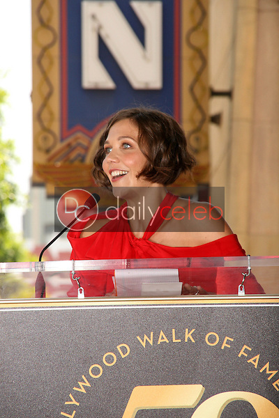 Maggie Gyllenhaal<br /> at the induction ceremony for Emma Thompson into the Hollywood Walk of Fame, Hollywood, CA. 08-06-10<br /> David Edwards/DailyCeleb.com 818-249-4998