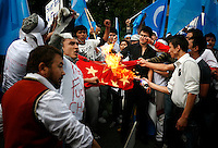 Norway: China Uighur protest by Fredrik Naumann