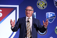 Philadelphia, PA - Thursday January 18, 2018: President of adidas Group North America Mark King. The 2018 MLS League Meetings were held at the Philadelphia Marriott Downtown.