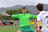 Phoenix&rsquo; Keegan Smith in action during the National Youth League - Phoenix Youth v Team Wellington Youth at Petone Memorial Park, Lower Hutt, New Zealand on Saturday 29 October 2016.<br /> Photo by Masanori Udagawa. <br /> www.photowellington.photoshelter.com.