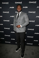 CULVER CITY, CA - MARCH 7: Curtis &quot;50 Cent&quot; Jackson, pictured at Crackle's The Oath Premiere at Sony Pictures Studios in Culver City, California on March 7, 2018. <br /> CAP/MPIFS<br /> &copy;MPIFS/Capital Pictures