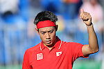 Kei Nishikori (JPN), <br /> AUGUST 11, 2016 - Tennis : <br /> Men's Singles Third Round <br /> at Olympic Tennis Centre <br /> during the Rio 2016 Olympic Games in Rio de Janeiro, Brazil. <br /> (Photo by Yohei Osada/AFLO SPORT)