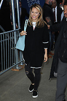 www.acepixs.com<br /> October 16, 2017 New York City<br /> <br /> Ginger Zee leaving a taping of Good Morning America in Times Square on October 16, 2017 in New York City.<br /> <br /> Credit: Kristin Callahan/ACE Pictures<br /> <br /> Tel: 646 769 0430<br /> e-mail: info@acepixs.com