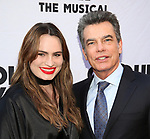 Kathryn Gallagher and Peter Gallagher attend the Broadway Opening Night performance of 'Groundhog Day' at the August Wilson Theatre on April 17, 2017 in New York City