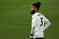 10th July 2020; Craven Cottage, London, England; English Championship Football, Fulham versus Cardiff City; Michael Hector of Fulham watches play move away
