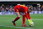 UEFA Women's Champions League 2017/2018.<br /> Quarter Finals.<br /> FC Barcelona vs Olympique Lyonnais: 0-1.<br /> Sandra Pa&ntilde;os.