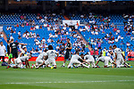 Real Madrid training before Santiago Bernabeu Trophy match at Santiago Bernabeu Stadium in Madrid, Spain. August 11, 2018. (ALTERPHOTOS/Borja B.Hojas)