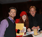 Ric Ryder - Jane Elissa - Ken Lundie -   - Sean McDermott - Glory Crampton get ready to perform at the Broadway Extravaganza to honor the Candidacy of Artist Jane Elissa for the Leukemia & Lymphoma Society, Man & Woman of the Year on April 23, 2012 at the New York Marriott Marquis, New York City, New York.  (Photo by Sue Coflin/Max Photos)