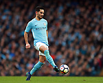 Ilkay Gundogan of Manchester City during the premier league match at the Etihad Stadium, Manchester. Picture date 7th April 2018. Picture credit should read: Simon Bellis/Sportimage
