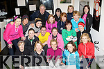 Killarney runners at the launch of the Killarney Ladies mini marathon in aid of Enable Ireland, which will be held on the 26th June, in Feet First shop Killarney on Thursday was front row l-r: Irene O'Leary, Margarite O'Donoghue, Liz McGillicuddy, Marie O'Sullivan. Middle row: Martina O'Neill, Catriona Kelly, Sean Scally, Ann Marie Horan, Nora Flynn, Noreen Moynihan, Back row: Aileen O'Brien, Siobhian Barrett, Tom Joe O'Donoghue, Liz Downey, Triona O'Connor, Joyce McCabe, Mary Hartnett, Shelly O'Neill and Nora Holland