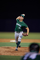 Daytona Tortugas relief pitcher Ryan Nutof (11) during a Florida State League game against the Tampa Tarpons on May 17, 2019 at George M. Steinbrenner Field in Tampa, Florida.  Daytona defeated Tampa 8-6.  (Mike Janes/Four Seam Images)