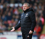 Chris Wilder manager of Sheffield Utd during the Championship match at Bramall Lane Stadium, Sheffield. Picture date 30th December 2017. Picture credit should read: Simon Bellis/Sportimage