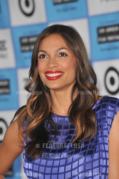 "Rosario Dawson at the Los Angeles premiere of ""Public Enemies"" at Mann Village Theatre, Westwood..June 23, 2009  Los Angeles, CA.Picture: Paul Smith / Featureflash"