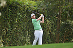 AUGUSTA, GA - APRIL 11: Branden Grace of South Africa tees off during the First Round of the 2013 Masters Golf Tournament at Augusta National Golf Club on April 10in Augusta, Georgia. (Photo by Donald Miralle) *** Local Caption ***
