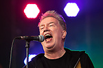 © Joel Goodman - 07973 332324. 05/08/2017 . Macclesfield , UK . The TOM ROBINSON Band performs at the Rewind Festival , celebrating 1980s music and culture , at Capesthorne Hall in Siddington . Photo credit : Joel Goodman