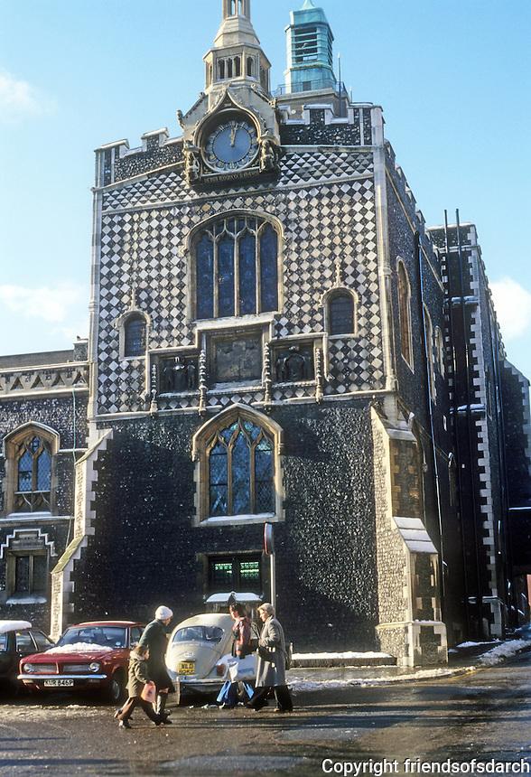 Norwich: Guild Hall. Photo '90.