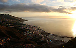 Santa Cruz de la Palma and harbour, capital of La Palma and the harbour, Canary Islands, Spain.