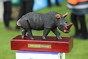7th December 2017, Twickenham Stadium, London, England; The Varsity Match, Cambridge versus Oxford;  The Rhino Trophy for the winning team of the mens Varsity Match 2017