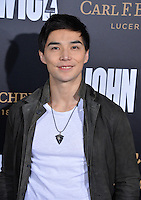 Ludi Lin at the premiere of &quot;John Wick Chapter Two&quot; at the Arclight Theatre, Hollywood. <br /> Los Angeles, USA 30th January  2017<br /> Picture: Paul Smith/Featureflash/SilverHub 0208 004 5359 sales@silverhubmedia.com