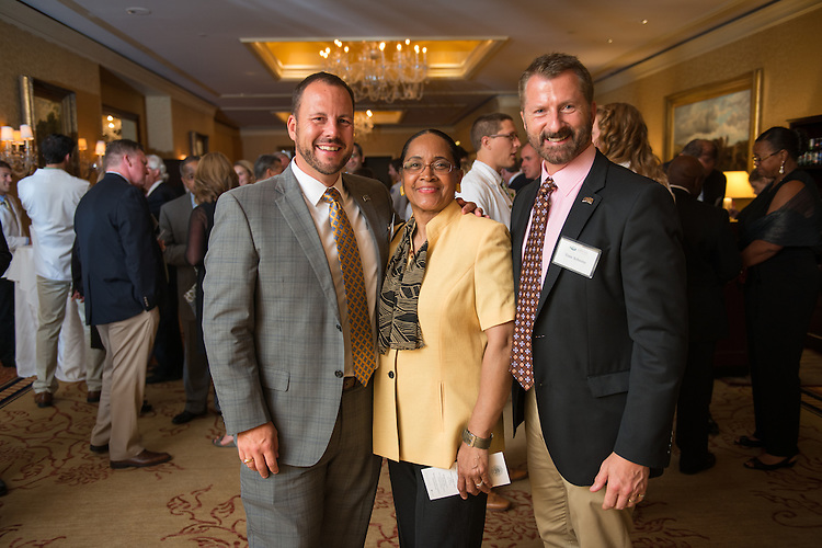 Heritage College of Osteopathic Medicine Cleveland Reception. © Ohio University / Photo by Ben Siegel