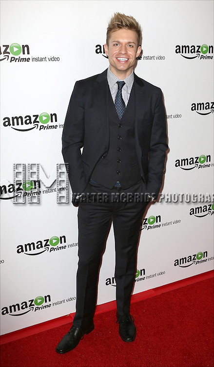 Hunter Ryan Herdlicka attending the Amazon Red Carpet Premiere for 'Mozart in the Jungle' at Alice Tully Hall on December 2, 2014 in New York City.