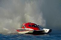 "Steve Kuhr, Jr., NM-247 ""Blitzkrieg"" (National Mod hydroplane(s)"
