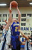 Morgan Staab #25 of Kellenberg grabs a rebound during the first half of a CHSAA varsity girls basketball game against host Our Lady of Mercy Academy on Friday, Jan. 13, 2017. Kellenberg won by a score of 48-47.