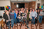Double Celebration : Liz & Tom O'Loughlin, Listowel & Austarlia celebrating their 30th birthdays with family & friends at Brosnan's Bar, Listowel on Saturday night last.
