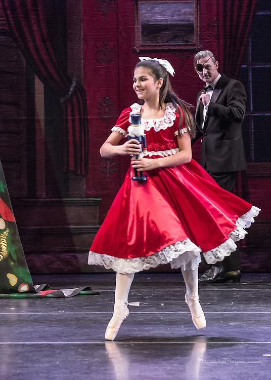 "Cary Ballet Company ""Visions Of Sugarplums"" Space & Tech Rehearsal, Cary Arts Center, Cary, North Carolina, 12 Dec 2012."