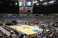 SACRAMENTO, CA - MARCH 29: The arena during the NCAA Women's Basketball Championship Elite Eight on March 29, 2010 at Arco Arena in Sacramento, California.