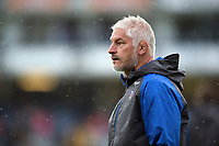 Bath Director of Rugby Todd Blackadder looks on during the pre-match warm-up. Aviva Premiership match, between Bath Rugby and Saracens on September 9, 2017 at the Recreation Ground in Bath, England. Photo by: Patrick Khachfe / Onside Images