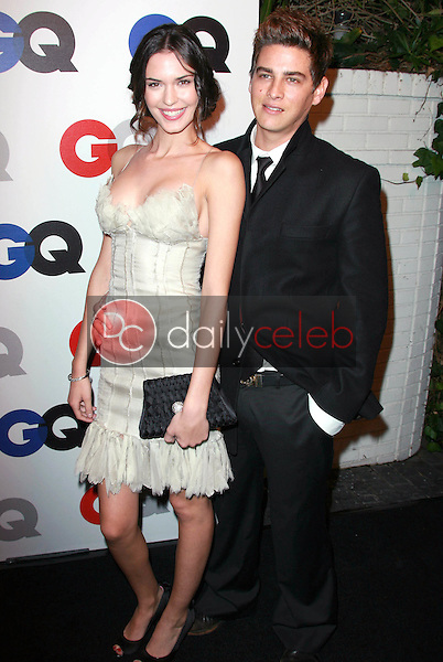 Odette Yustman and Trevor Wright<br />