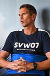 Waldhofs Trainer Patrick Glöckner / Gloeckner  bei der Pressekonferenz in der 3. Liga des SV Waldhof Mannheim.<br /> <br /> Foto © PIX-Sportfotos *** Foto ist honorarpflichtig! *** Auf Anfrage in hoeherer Qualitaet/Aufloesung. Belegexemplar erbeten. Veroeffentlichung ausschliesslich fuer journalistisch-publizistische Zwecke. For editorial use only. DFL regulations prohibit any use of photographs as image sequences and/or quasi-video.