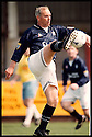 17th May 98      Copyright Pic : James Stewart   .FALKIRK MANAGER ALEX TOTTEN IN ACTION FOR A FALKIRK SELECT SIDE WHO BEAT DUKLA PUMPHERSTON IN A CHALLENGE MATCH IN AID OF THE BACK THE BAIRNS CAMPAIGN....Payments to :-.James Stewart Photo Agency, Stewart House, Stewart Road, Falkirk. FK2 7AS      Vat Reg No. 607 6932 25.Office : 01324 630007        Mobile : 0421 416997.If you require further information then contact Jim Stewart on any of the numbers above.........