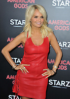 www.acepixs.com<br /> <br /> April 20 2017, New York City<br /> <br /> Kristin Chenoweth arriving at the premiere of 'American Gods' at the ArcLight Cinemas Cinerama Dome on April 20, 2017 in Hollywood, California.<br /> <br /> By Line: Peter West/ACE Pictures<br /> <br /> <br /> ACE Pictures Inc<br /> Tel: 6467670430<br /> Email: info@acepixs.com<br /> www.acepixs.com