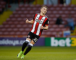 Caolan Lavery of Sheffield Utd during the Carabao Cup, second round match at Bramall Lane, Sheffield. Picture date 22nd August 2017. Picture credit should read: Simon Bellis/Sportimage