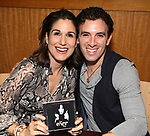 Stephanie J. Block and Jarrod Spector during 'The Cher Show' Original Broadway Cast Recording performance and CD signing at Barnes & Noble Upper East Side on May 14, 2019 in New York City.